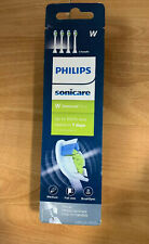 Philips Sonicare W Diamond Clean Replacement Toothbrush Heads, Pk/4