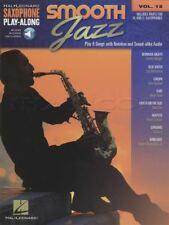 Smooth Jazz Saxophone Play-Along Sheet Music Book/ Audio Alto Tenor Bb Eb
