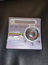 Sony Fm/Am Portable Minidisc Recorder Mz-G750 Walkman
