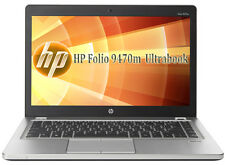 HP Folio 9470m  Ultrabook Core i5 1,90Ghz 4GB 128SSD  WEB CAM 1600x900  NO AKKU