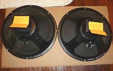 Pair of 1969 Alnico Original Cones  8/16 ohm speakers Rola for Hammond