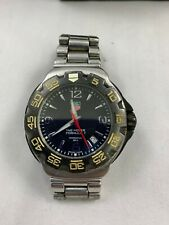 Men's Tag Heuer watch formula one 1 - silver band