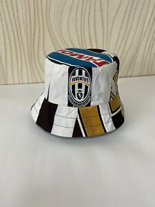 JUVENTUS BUCKET HAT FOOTBALL SOCCER hand made juventus 2005 2006 home