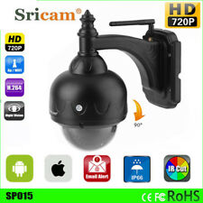 Sricam Outdoor PT 720P Wireless Wifi IP Dome Camera CCTV Security IR Webcam P2P