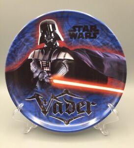 Zak! Designs Darth Vader 8 inch kids plastic plate Star Wars