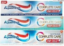 Aquafresh COMPLETE CARE Gum Plaque Stain Removal Whitening/ExtraFresh Toothpaste