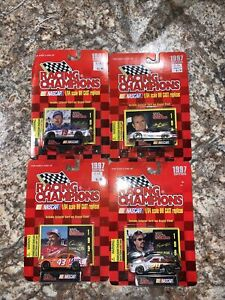 Racing Champions NASCAR #43/#6/#19/#28 NEW Sealed Lot Of 4