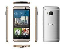 HTC One M9 6535L - 32GB - Gold on Silver Verizon + GSM Unlocked Smartphone C
