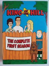 King of the Hill Season 1 DVD 3-Disc Set Mike Judge + Behind the scenes feature