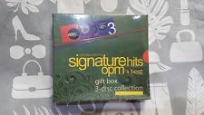 Signature Hits - OPM's Best - 3 CDs - OPM - Pinoy Music - Sealed