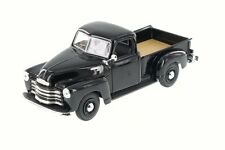 MAISTO 1:24 Scale 1950 CHEVROLET 3100 PICKUP BLACK DIECAST CAR NODEL 34952