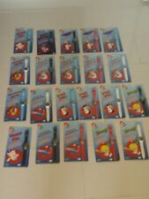 Lot 21 Porky Tweety, Taz, Sylvester, Daffy Bugs B + Comic Ball Hologram Watches!