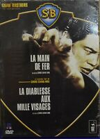 °°° DVD la main de fer, la diablesse aux mille visages 2 films NEUF SOUS BLISTER