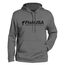 USA PERFORMANCE Athletic  GRAY  Long Sleeve  Hoodie  mens  2-XL 50-52   NEW