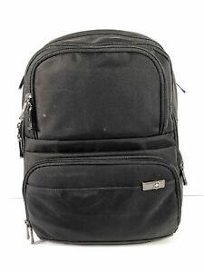 Victorinox Black Nylon Unisex Large Business Travel Commuter Laptop Backpack