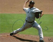 Chien Ming Wang Signed NY Yankees 8x10 Photo - COA - Blue Jays - Nationals - MLB
