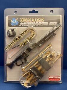 DID Deluxe Accessories Set MG42 All Metal 1:6. MIP