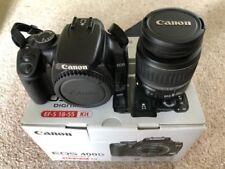 Canon EOS 400D 10.1MP Appareil Photo Reflex Numérique-Noir (Kit Avec EF/EF S Objectif 18-55 mm)