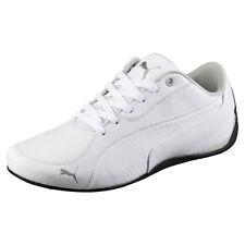 Puma Drift Cat5 Carbonio Sneaker Scarpe Uomo Pelle da ginnastica bianchi 44