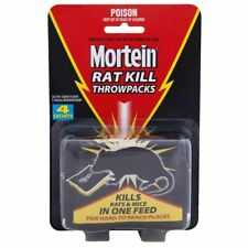 Mortein Rat Kill Throwpacks 4 sachets