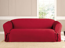 Red Furniture Slipcovers for sale | eBay