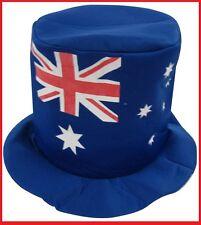 AUSSIE FLAG Blue TOP HAT Aussie Commonwealth Olympic Souvenir Work Event Party