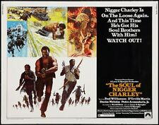 SOUL OF NIGGER CHARLEY half sheet poster 22x28 FRED WILLIAMSON BLAXPLOITATION
