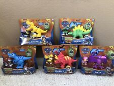 Paw Patrol DINO RESCUE Rubble ROCKY Chase SKYE Marshall Figure Dinosaur Nick Jr