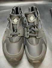 Nike Air Huarache Triple Black Men's Shoes 318429-003 Size 10