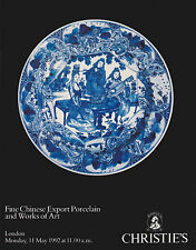 FINE CHINESE EXPORT PORCELAIN & WORKS OF ART AUCTION CATALOGUE
