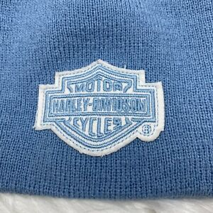 HARLEY DAVIDSON Motorcycles Beanie Hat Infant Baby 100% Acrylic Free Shipping