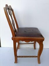 Früher Barock Rokoko Stuhl um 1750 aus Kirschbaum Tabernakel Barockkommode Chair