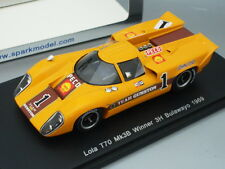 1/43 Spark Lola T70 Mk3B #1 Winner 3H Bulawayo 1969 J.Love