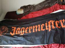 cooles Banner/Fahne von Jägermeister, ca 180x80cm, Neu & unbenutzt