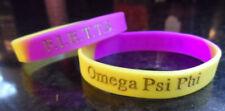 Omega Psi Phi Multi Color Wristband: Armband: Pack of 4!