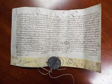 1855 Papal Bull - Pius IX - Manuscript on Vellum - with Lead Seal