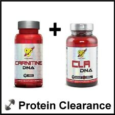 BSN Carnitine DNA 500mg 60 Tabs CLA 90 Softgels Weight Loss Caps Bbe 10/2017