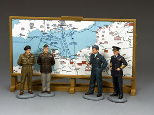 KING & COUNTRY D DAY DD315 ALLIED COMMAND SET