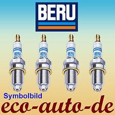 4 Zündkerzen BERU UXT1 Ultra-X Titan - Chrysler, Citroen