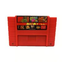 SUPER 900 in 1 Game 16 Bit For Nintendo SNES Game Multi Cart Cartridge NTSC-U/C