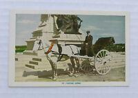 Printed Postcard Canada Quebec Caleche Horse Cart Carriage