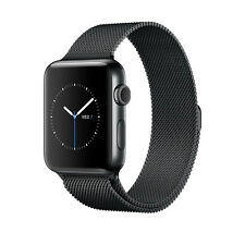 Apple Watch Series 2 38mm Black Stainless Steel Case With