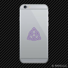 (2x) Triquetra Cell Phone Sticker Mobile paganism triangle many colors