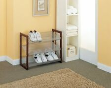 Organize It All Boston 3-Tier Shoe-Shelf 17053 , New, Free Shipping