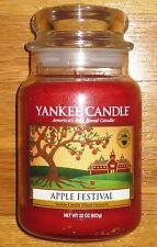 Yankee Candle - 2015 APPLE FESTIVAL - 22 oz - ONLY 96 PRODUCED - VERY RARE!!