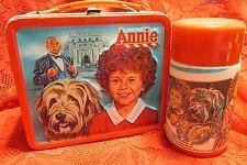 Collectible ANNIE 1981 Aladdin Industries ~ Vintage Metal Lunchbox