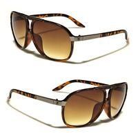 10db74efea426 80s Mens Retro Vintage Classic Fashion Designer Aviator Sunglasses Tortoise  u