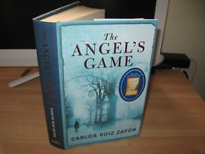 Carlos Ruiz Zafon - The Angel's Game Signed 1st imperf Shadow Of The Wind author