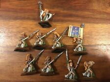 Wood Elf Glade Maiden guard metal elves Warhammer Épuisé