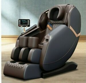 Zero Gravity Massage Chair Sofa Longer SL Track Full body Airbag -Black